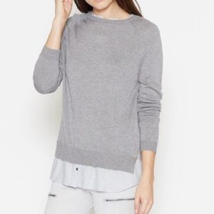 JOIE Layered Look Sweater